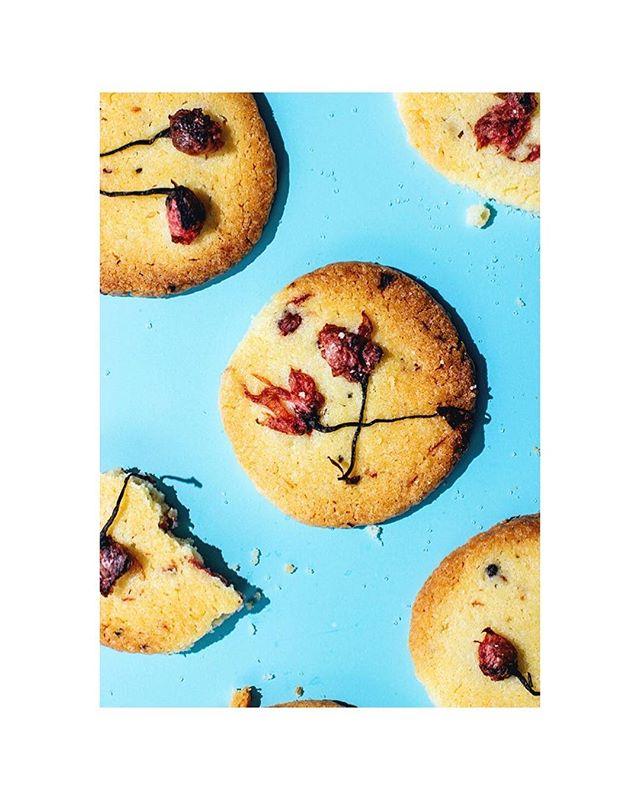 Ya es primavera! Os dejo en el blog una receta que me ha maravillado. Galletas de mantequilla con flores de cerezo encurtidas en sal. Tenéis que probarlas, os encantarán! Link en la bio. • • #sakura #japanese #sweet #cherryblossom #cookies #foodphotography #foodstyling #instafood #foodstagram #food #foodporn #foodie #vsco #culinary #bake #cooking