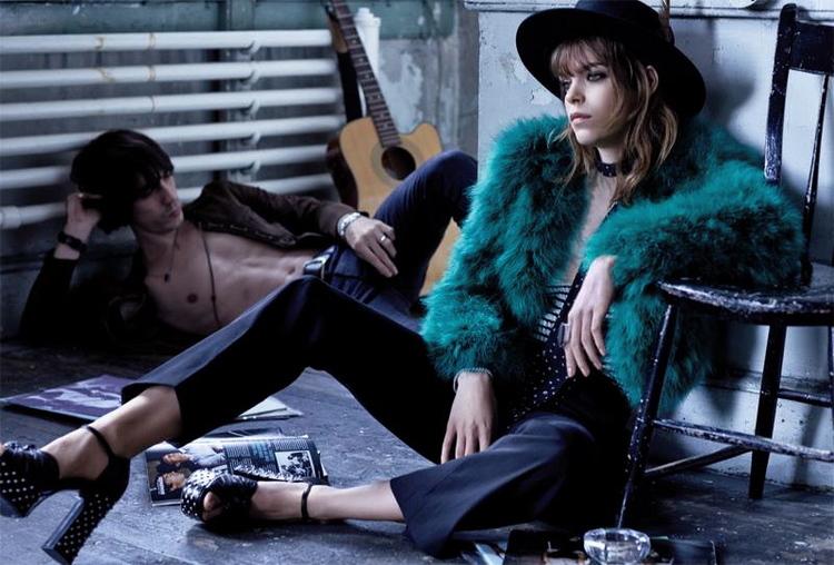 Vinny Michaud & Meghan Collison S Moda Magazine Model Vincent Michaud
