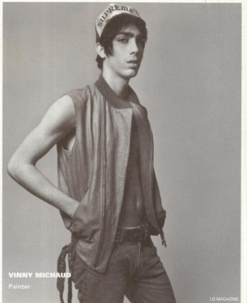 Vinny Michaud ID Magazine Model Vincent Michaud