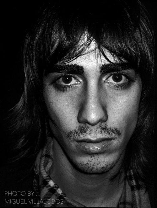 Vinny Michaud portrait photographed by Miguel Villalobos Model Vincent Michaud