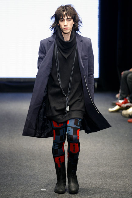Vinny Michaud Runway Paris Model Vincent Michaud