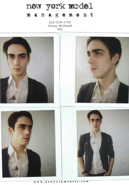 Vinny Michaud New York Model Management Model Vincent Michaud