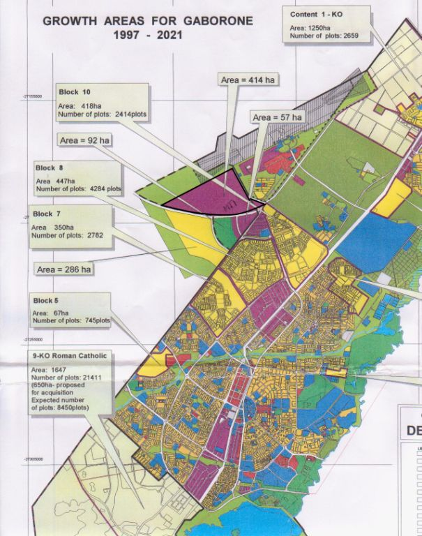 Plans for the Free Zone at the Gaborone Airport, one of Botswana's SEZs established through the help of Jean-Paul Gauthier