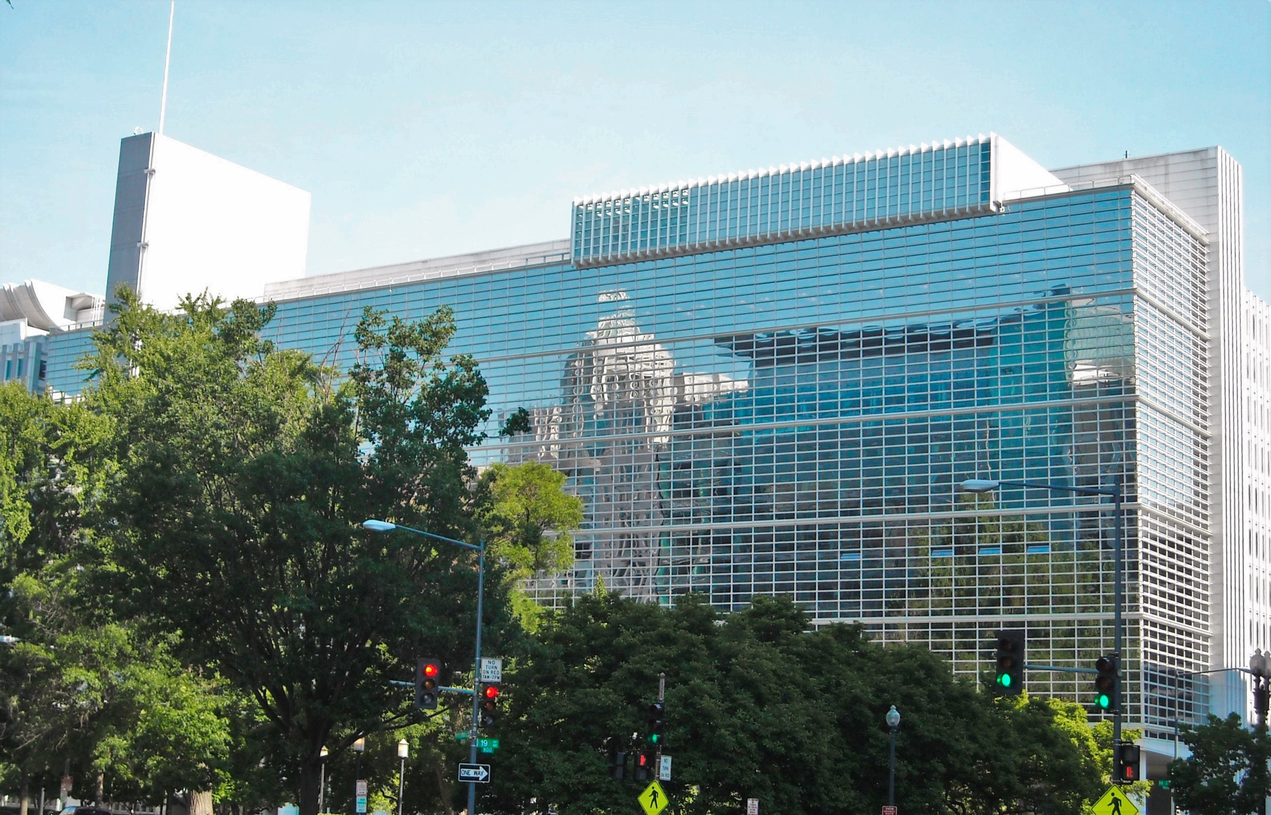 The World Bank Building, Washington, DC.