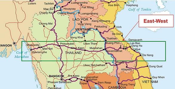 Proposed East-West Economic Corridor