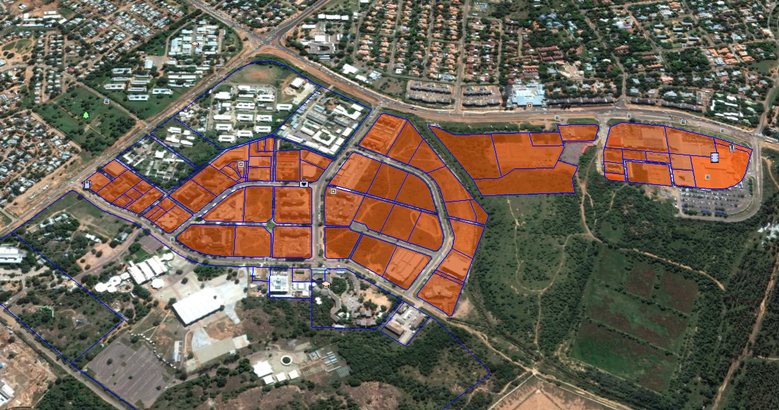 Fairgrounds International Financial Service Centre, a planned SEZ in Gaborone, Botswana