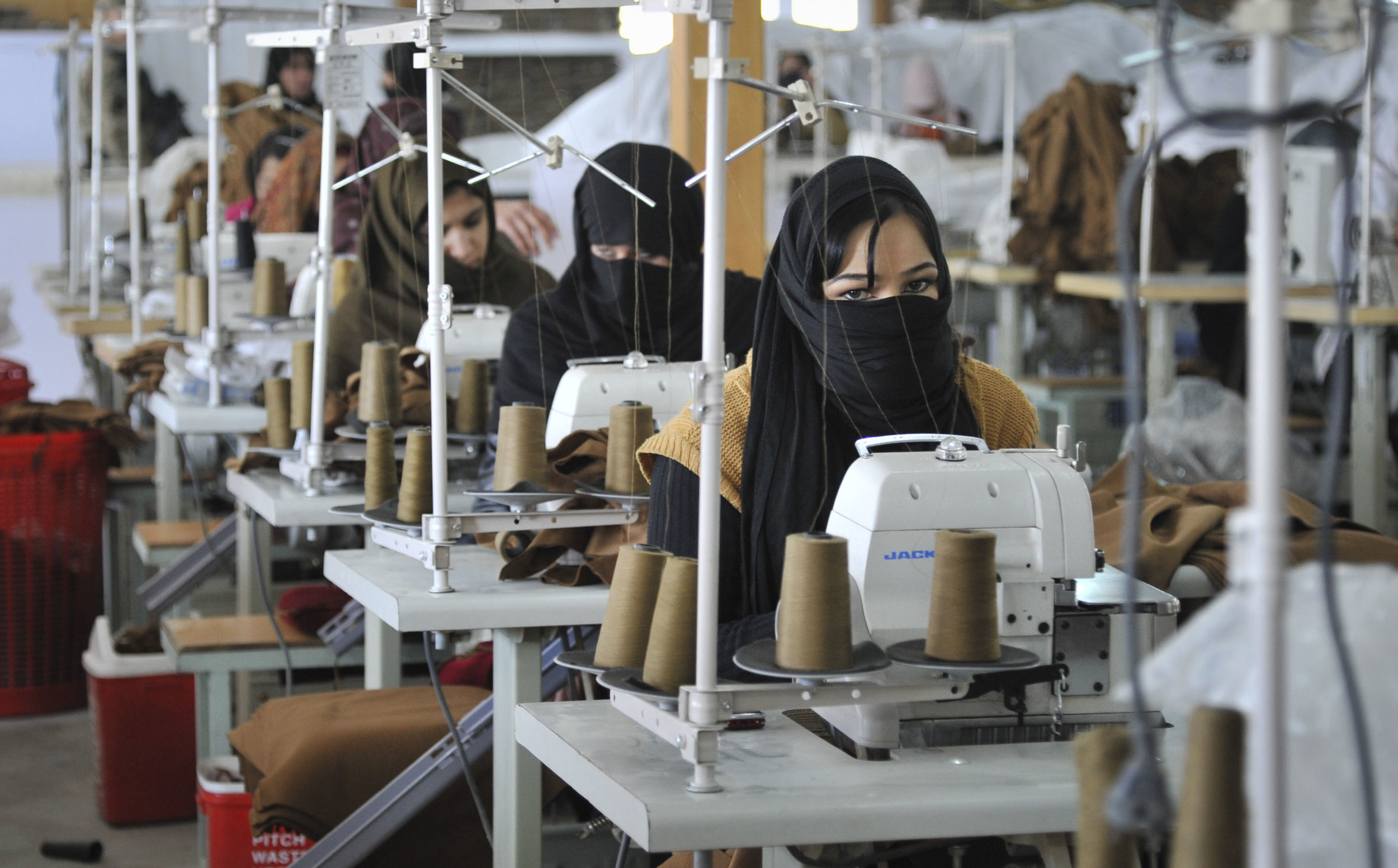 Textile Factory in Kabul, Afghanistan