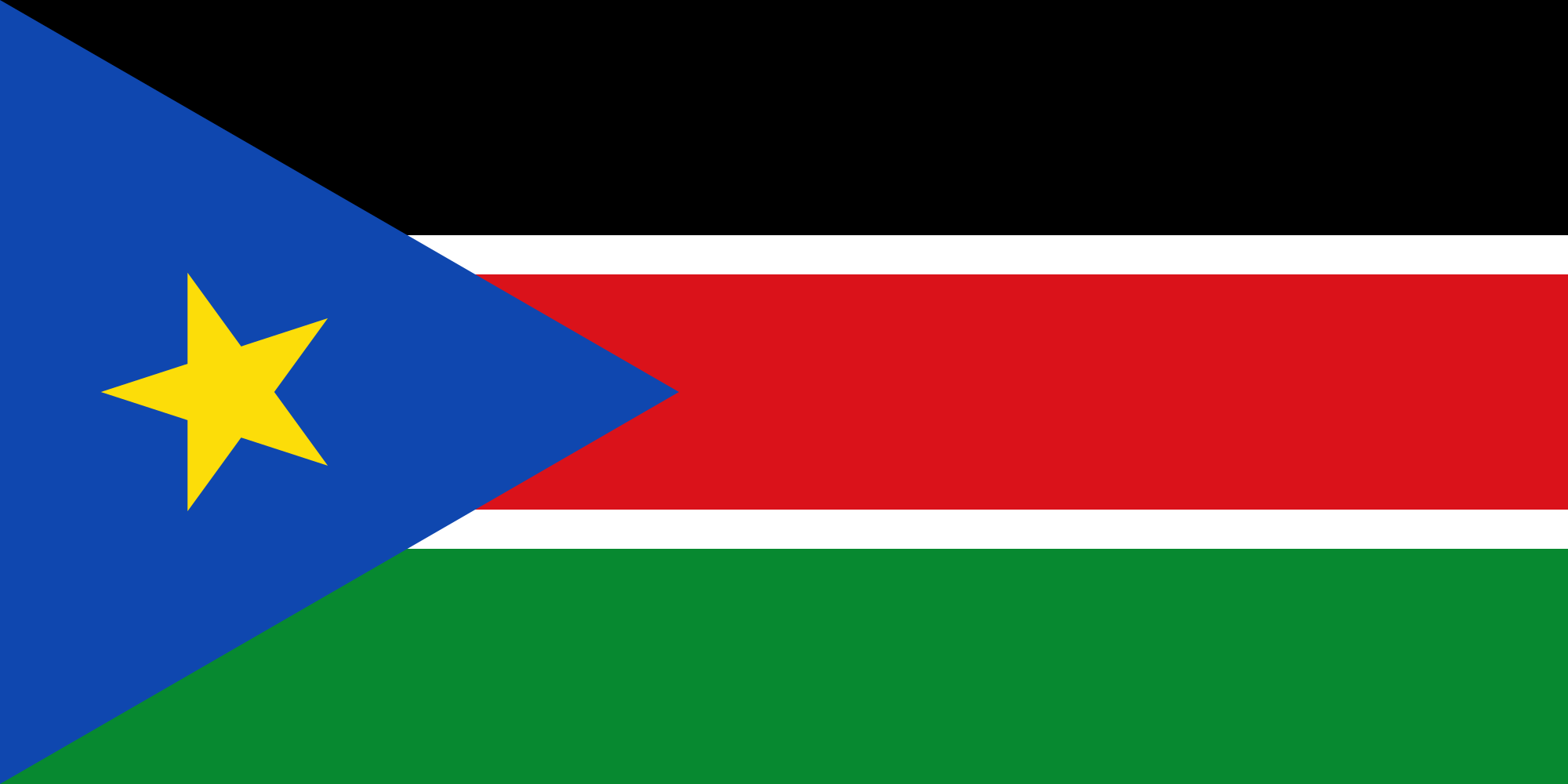 New Flag of South Sudan