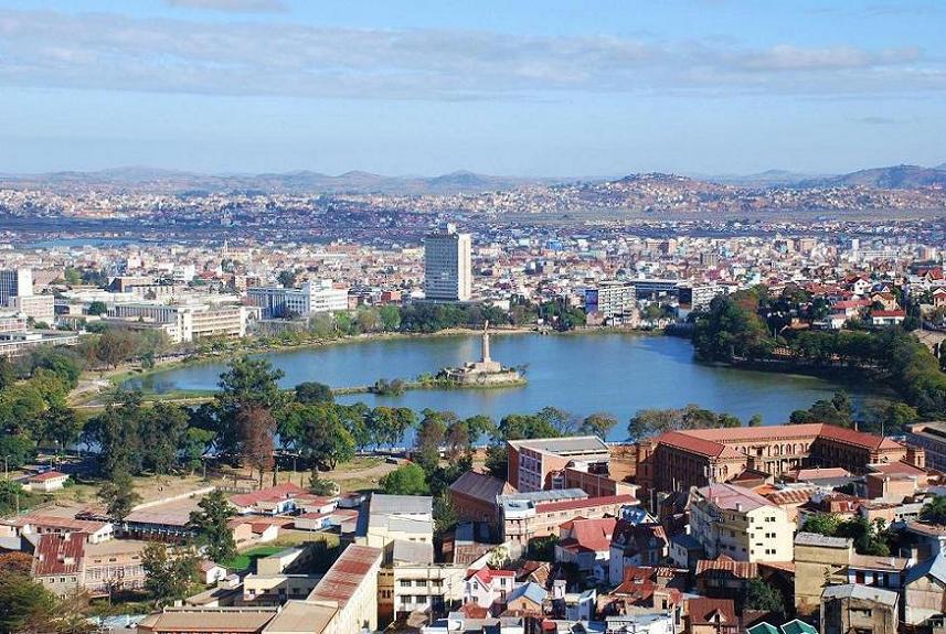 Lake Anosy, Central Antananarivo, Madagascar