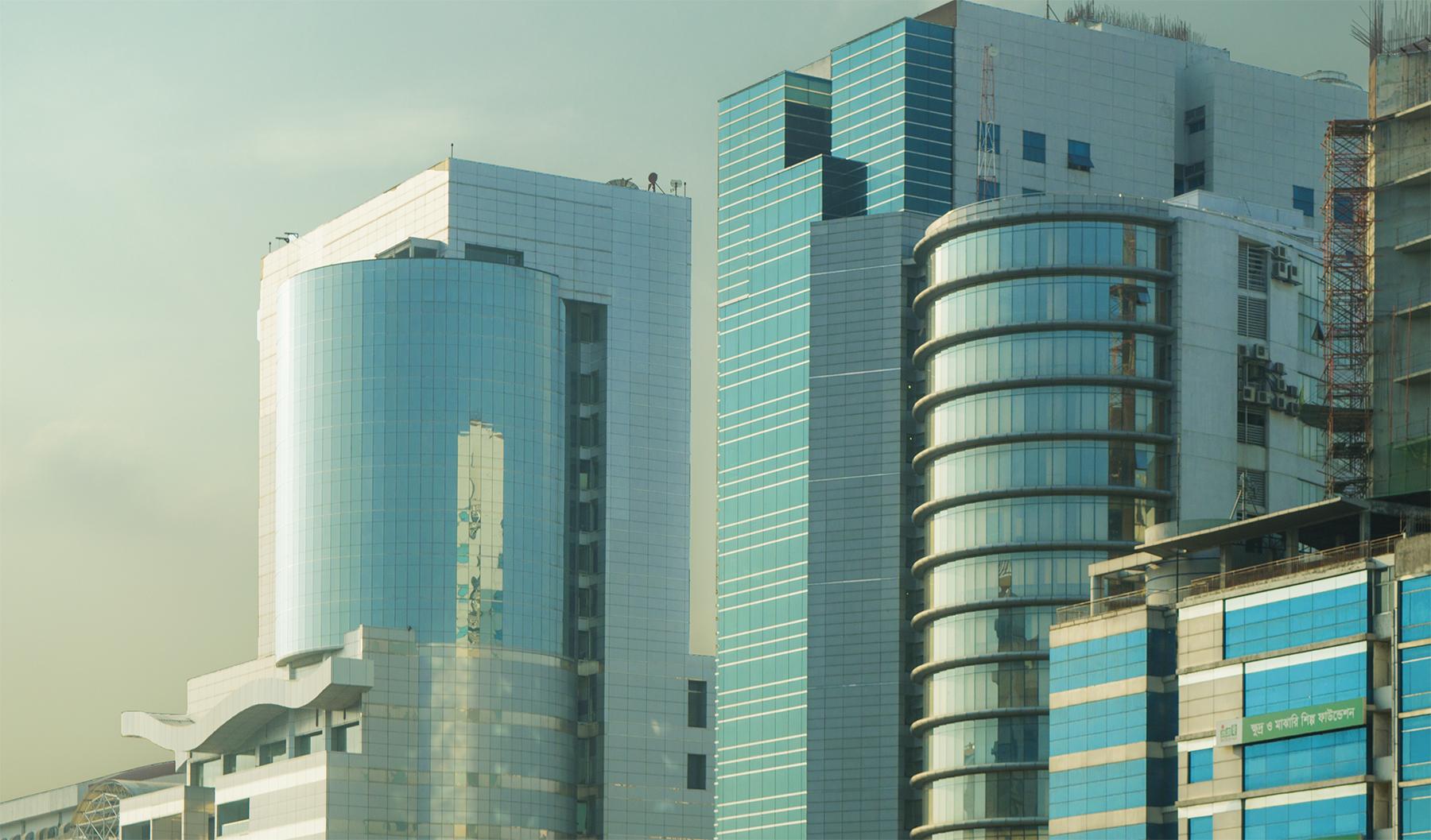 Skyscrapers in Dhaka, Bangladesh