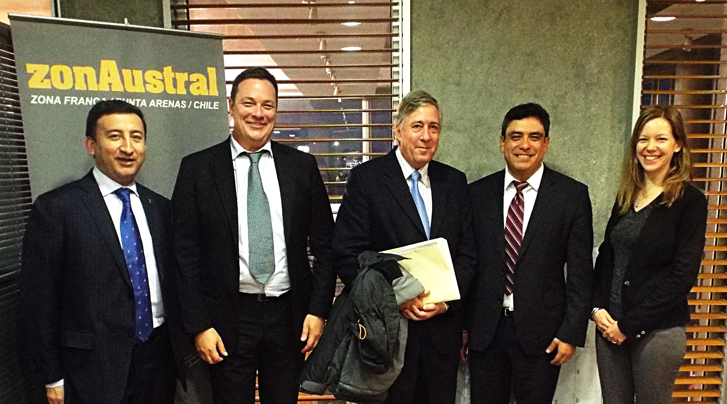 Locus CEO & Founder Jean-Paul Gauthier and team at ZonAustral