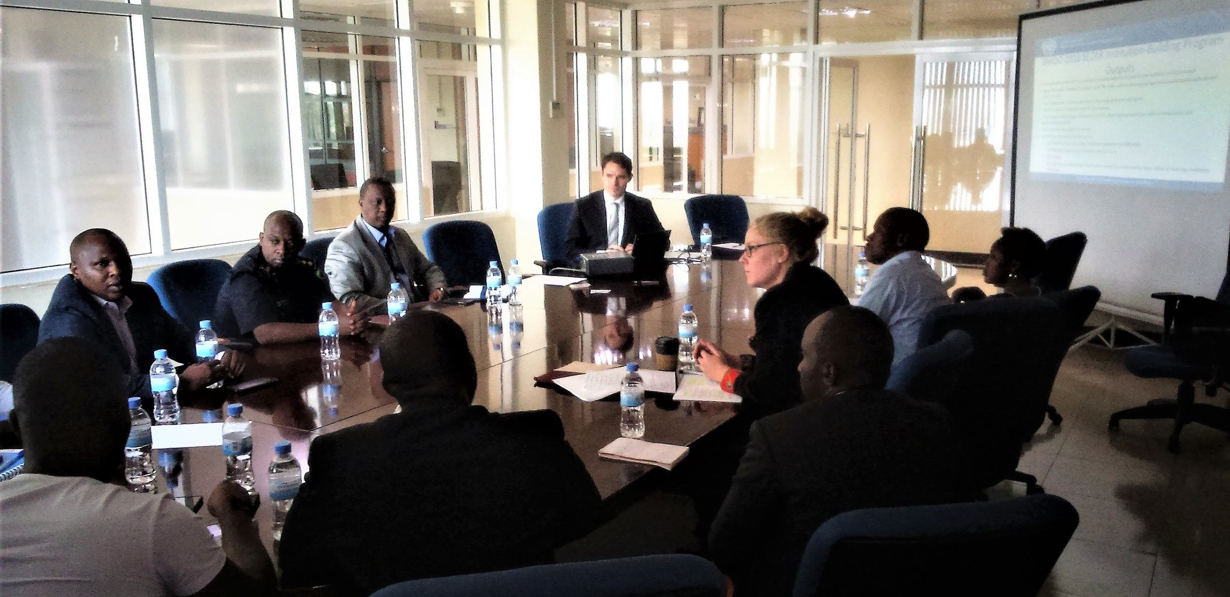 Locus Economica in discussion with with stakeholders for the Rwanda SEZ program.