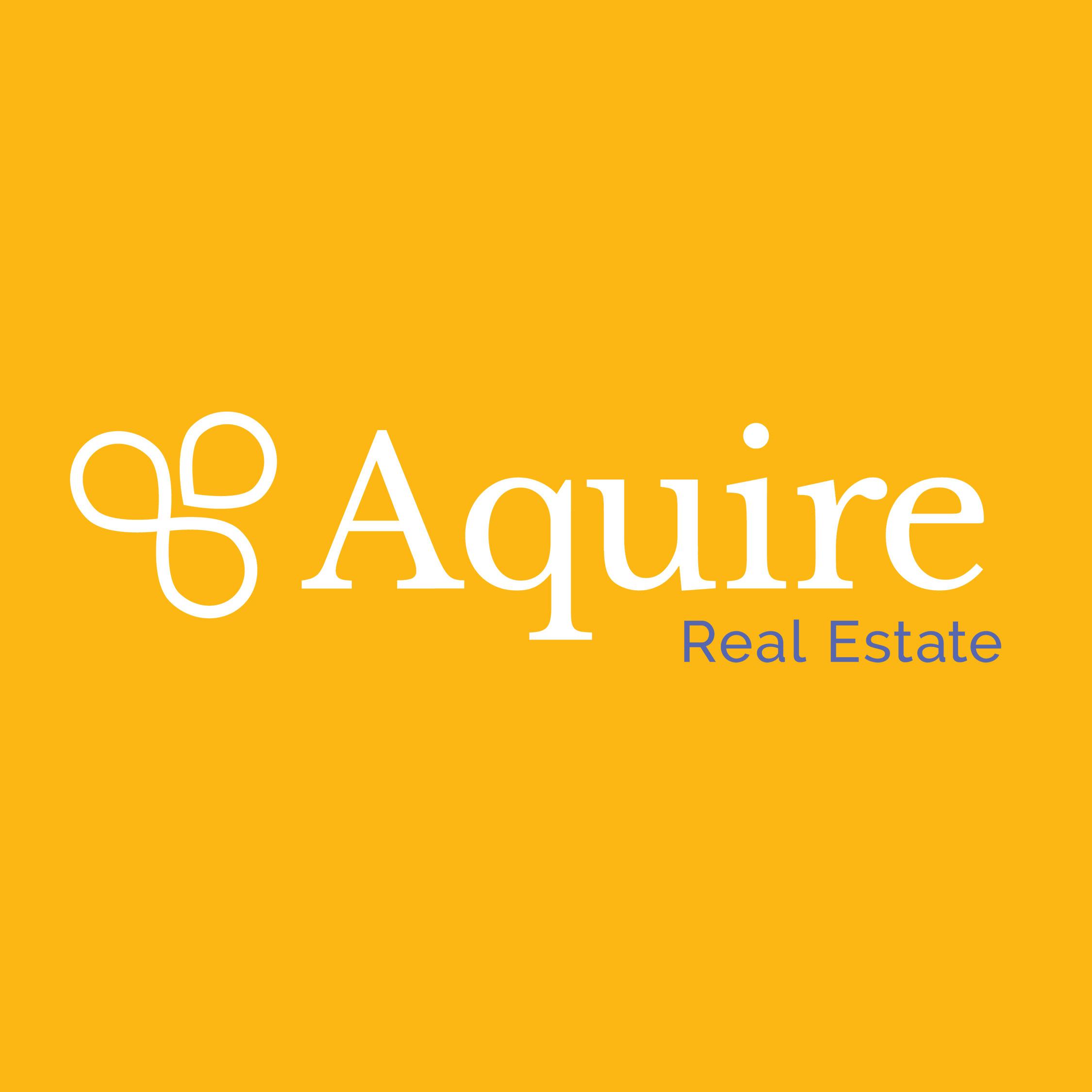Aquire Real Estate Visual Brand
