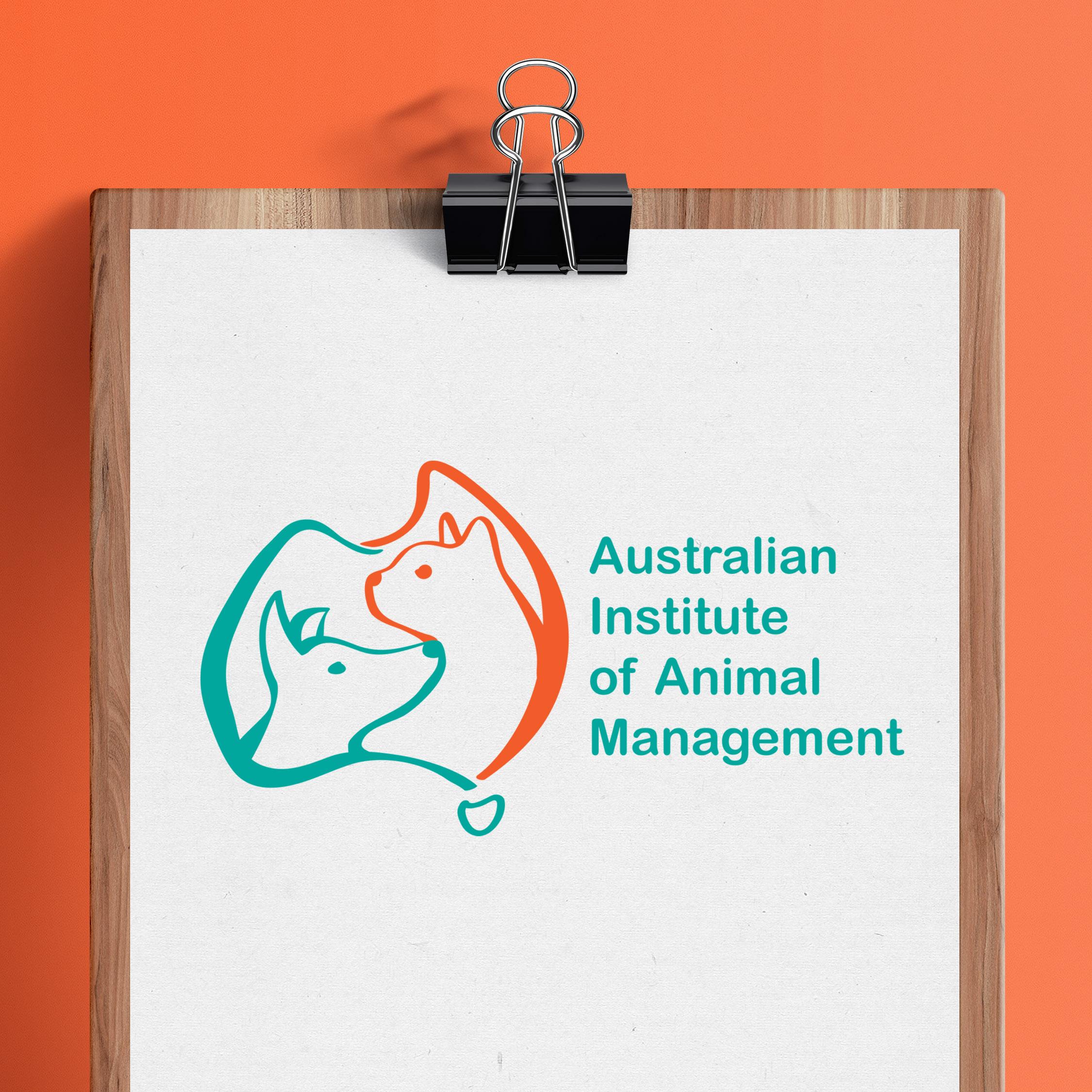 Australian Institute of Animal Management (AIAM) Logo Design