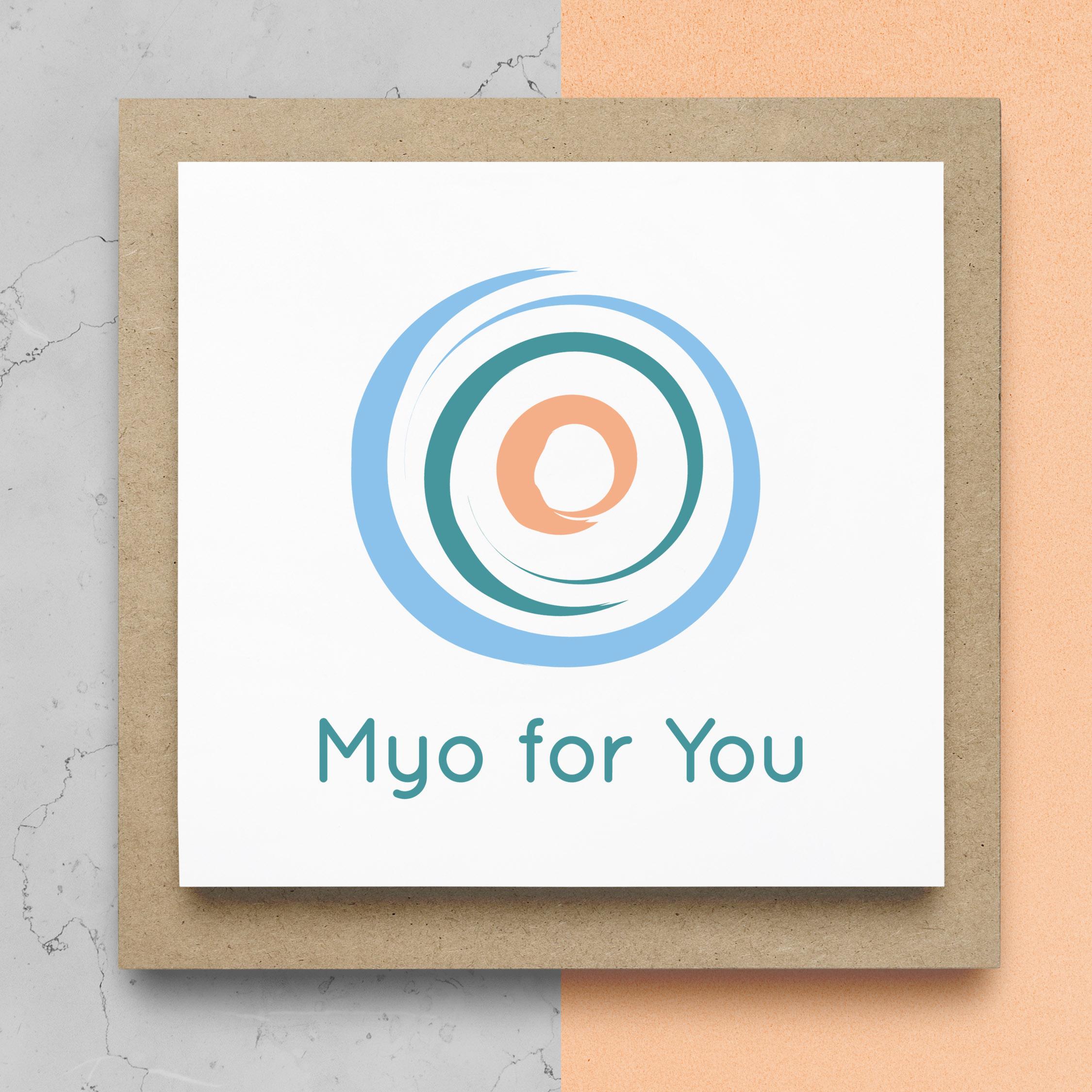 Myo For You Logo Design