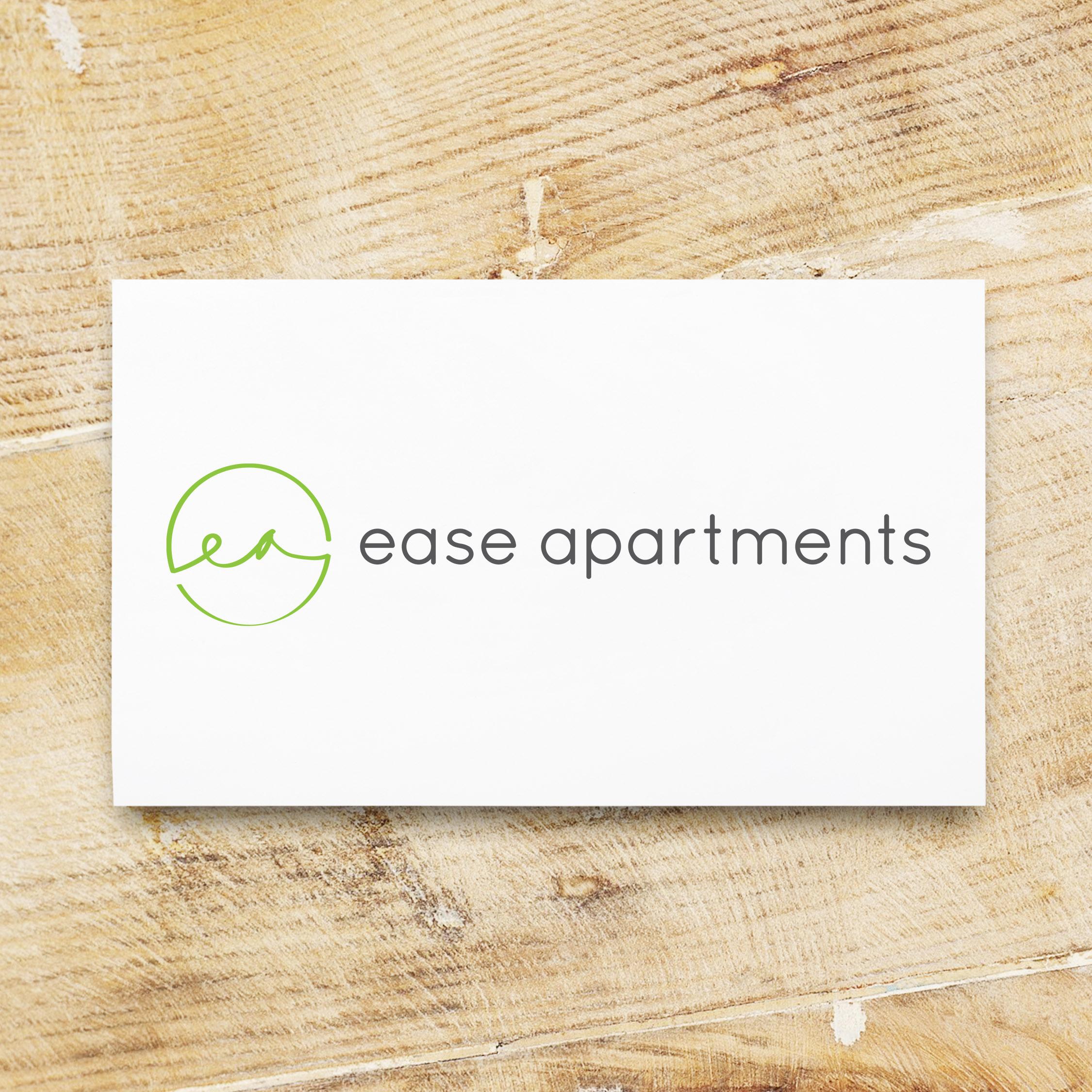 Ease Apartments Logo Design