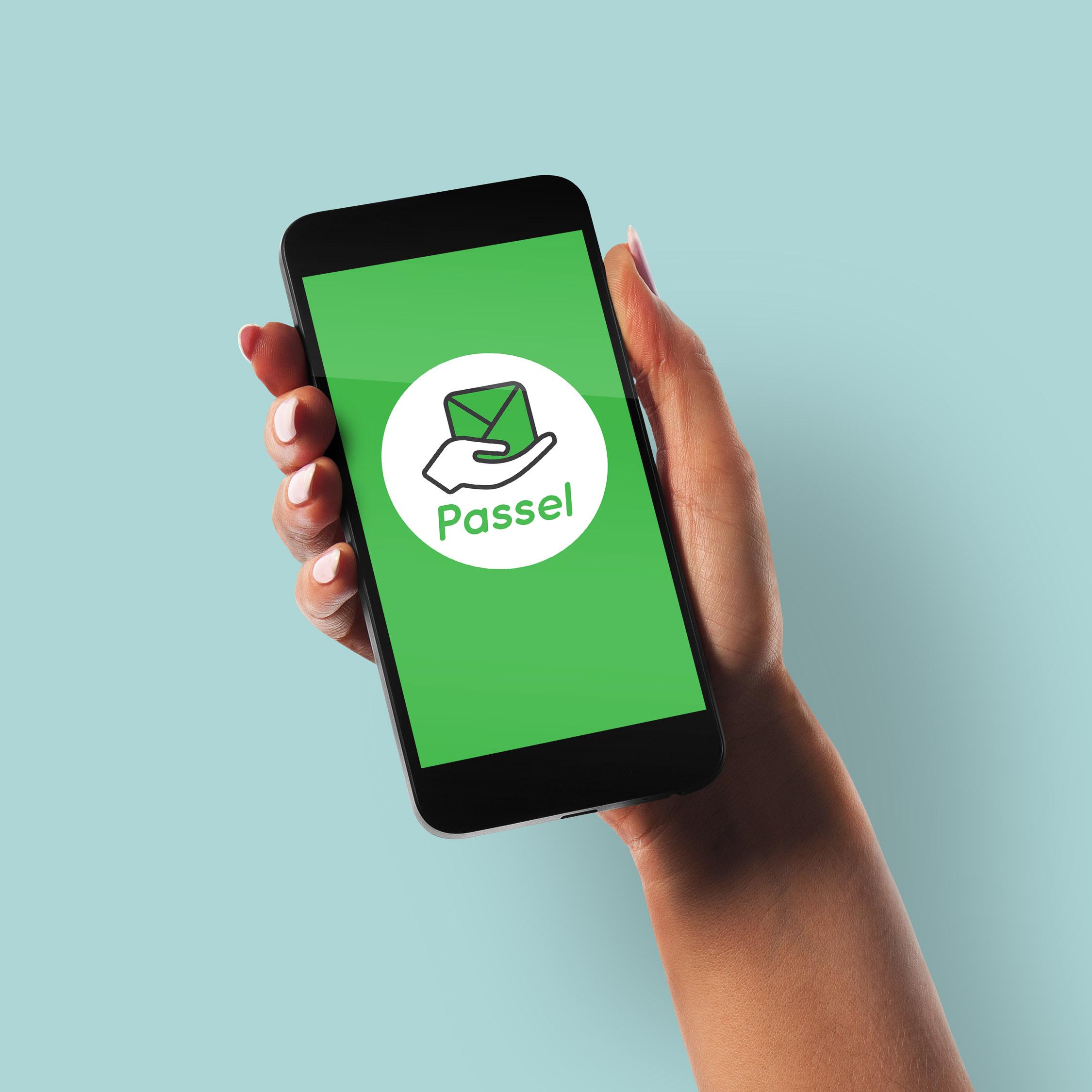 Passel Logo Design