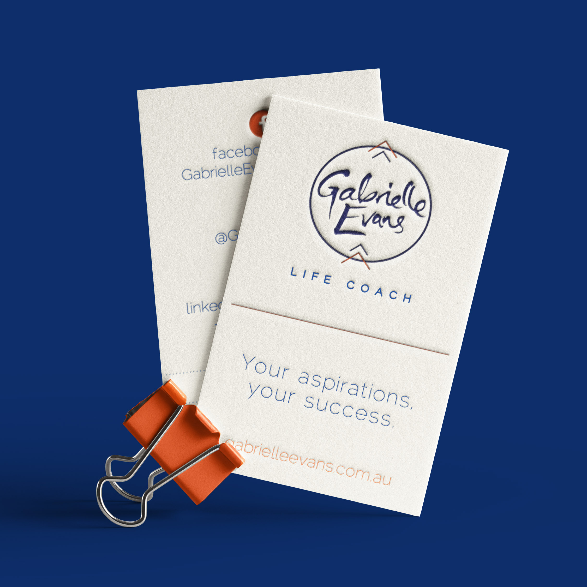 Gabrielle Evans Life Coaching Visual Brand
