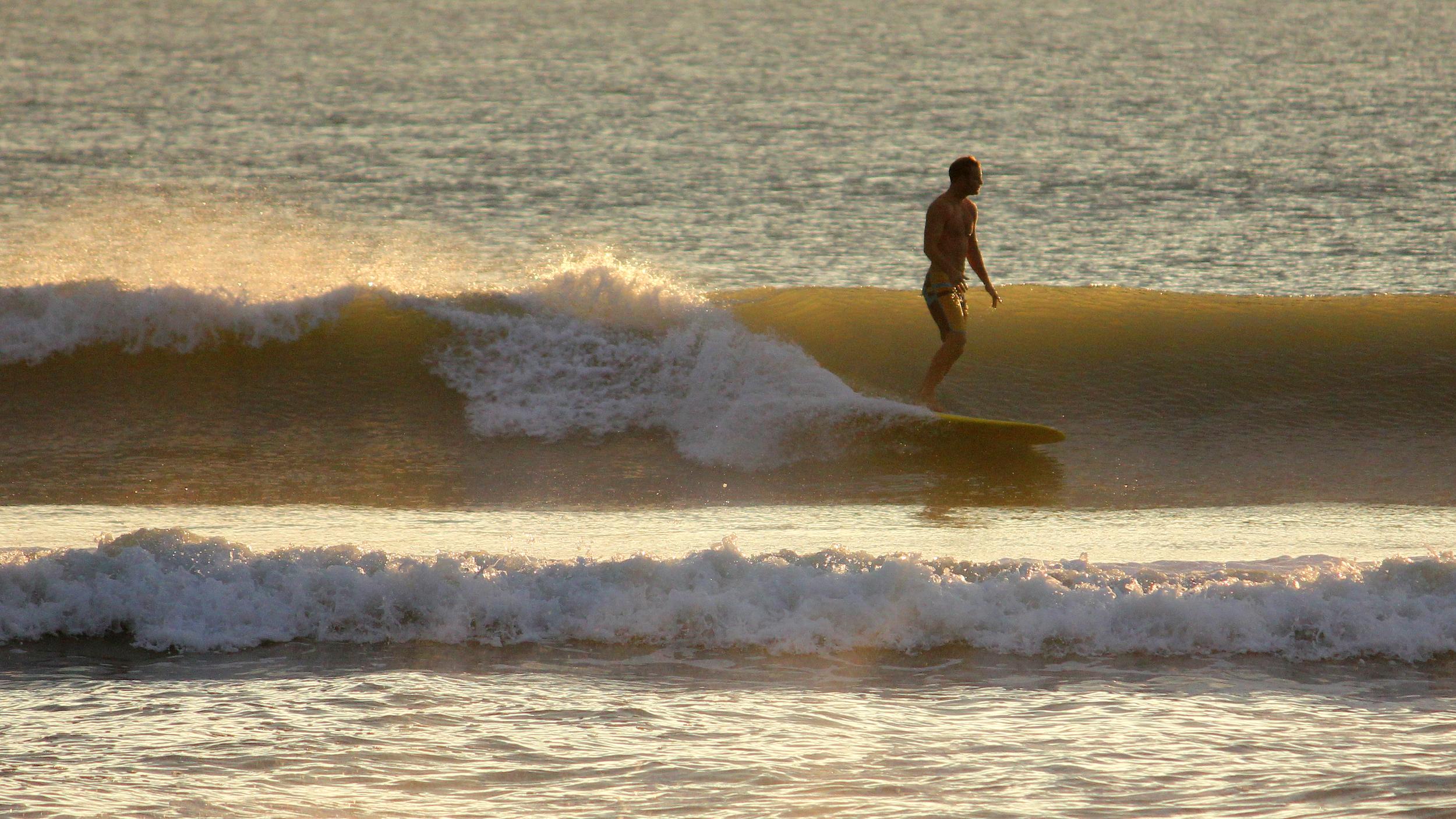 Unknown Surfer -  Cocoa Beach, FL