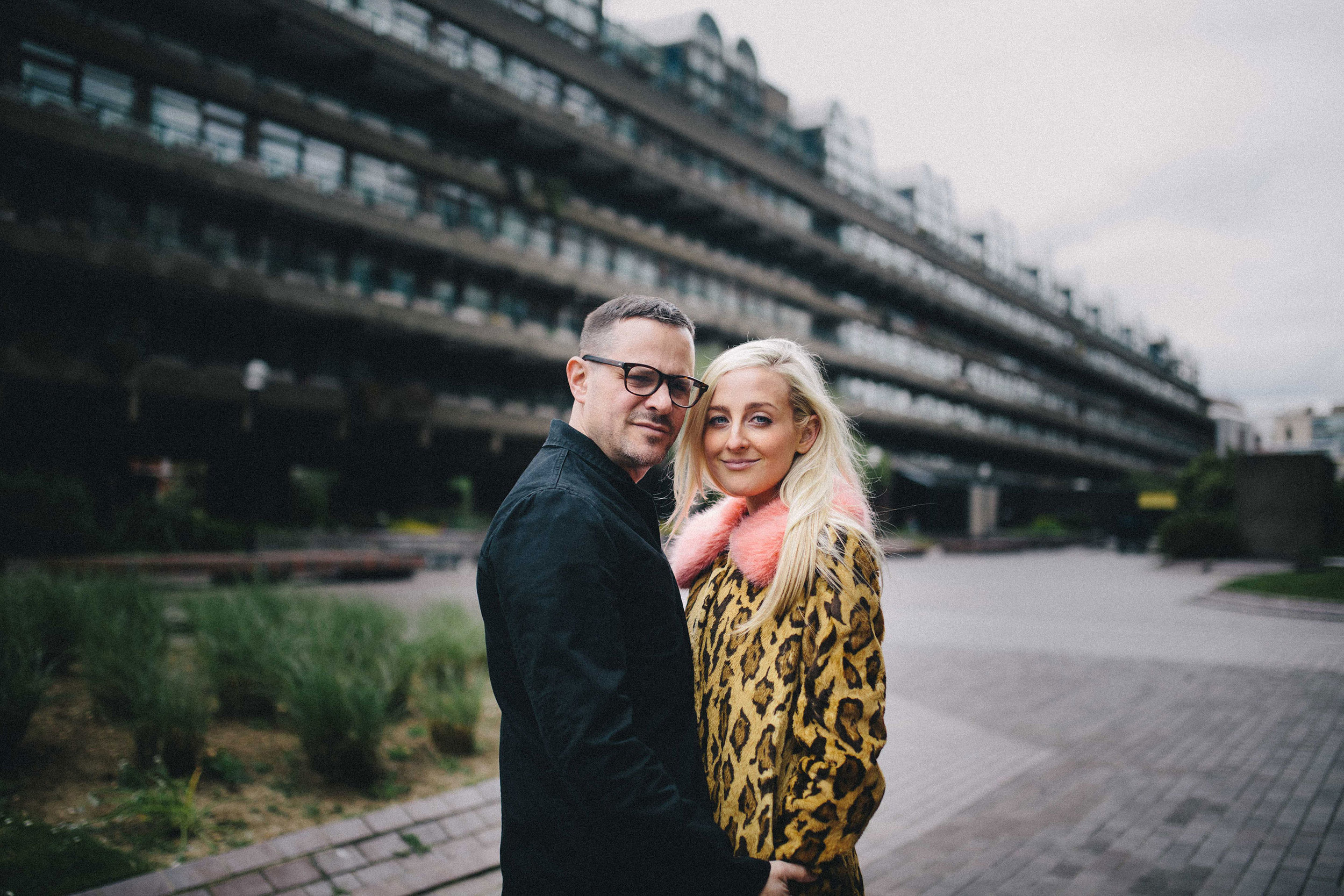 Barbican Engagement Shoot