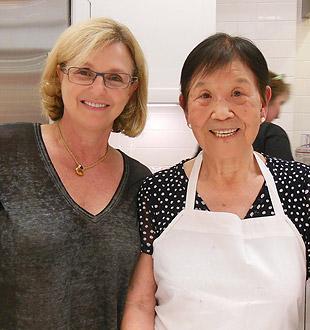 With Chef Shiu-Min Block
