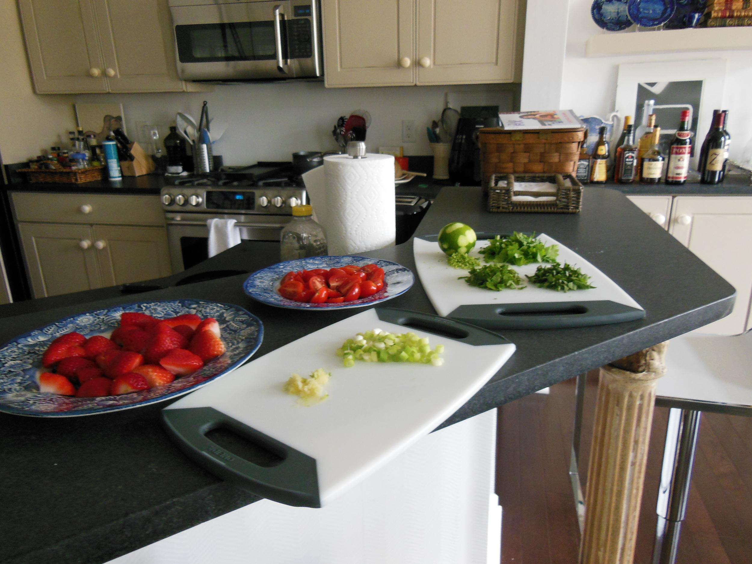 My kitchen.