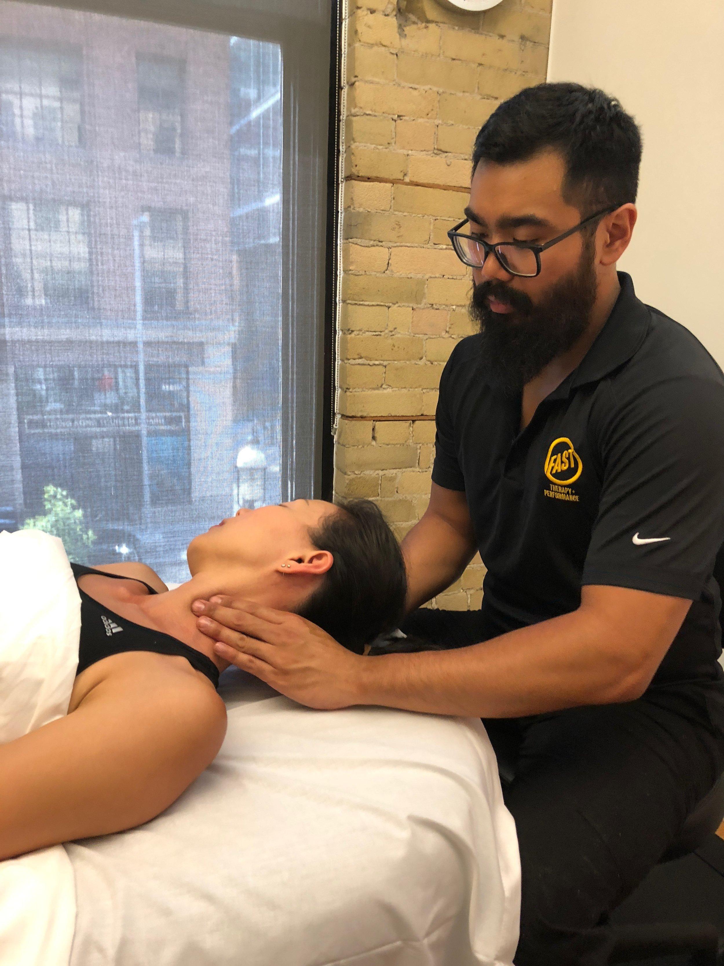 Massage Therapy - Benedict San Juan