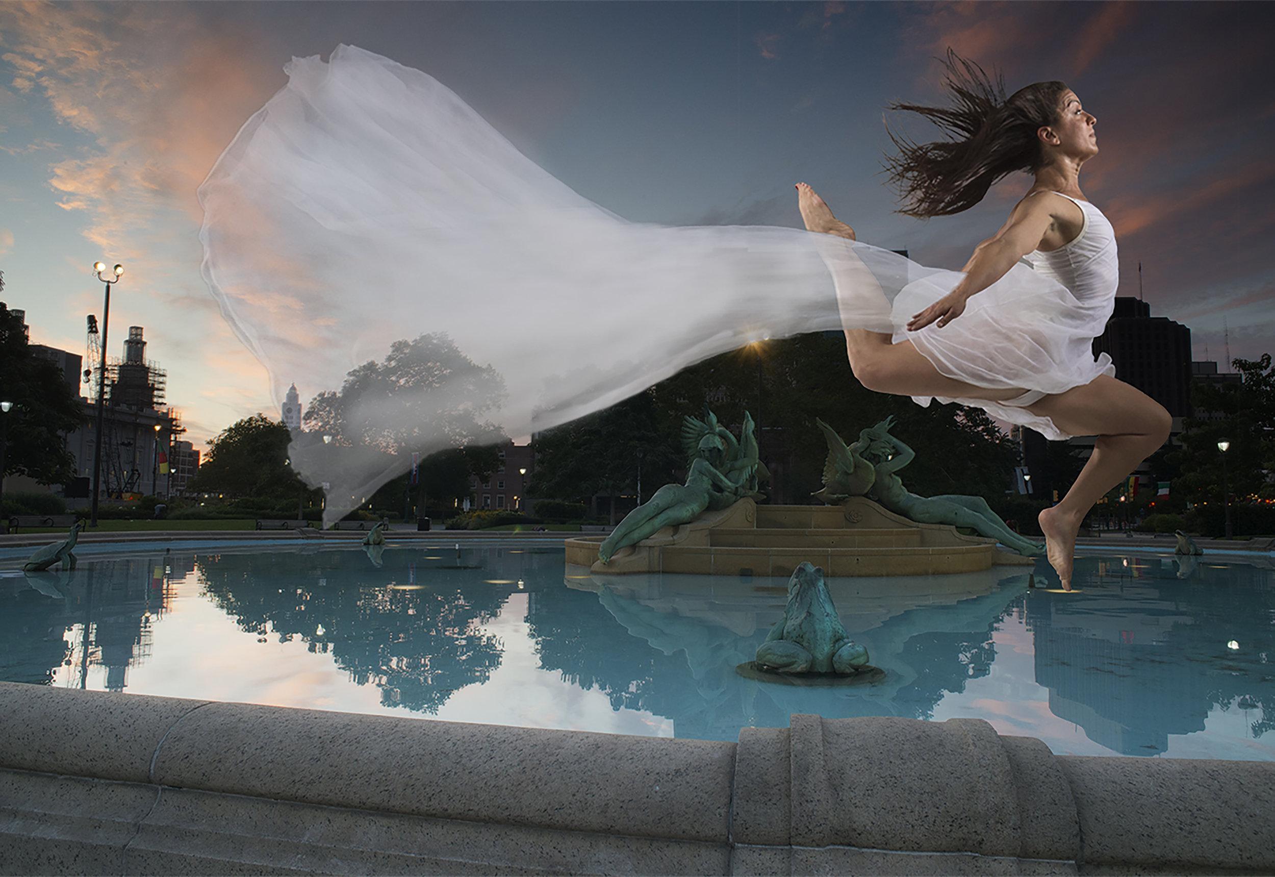 Logan Square Dancer