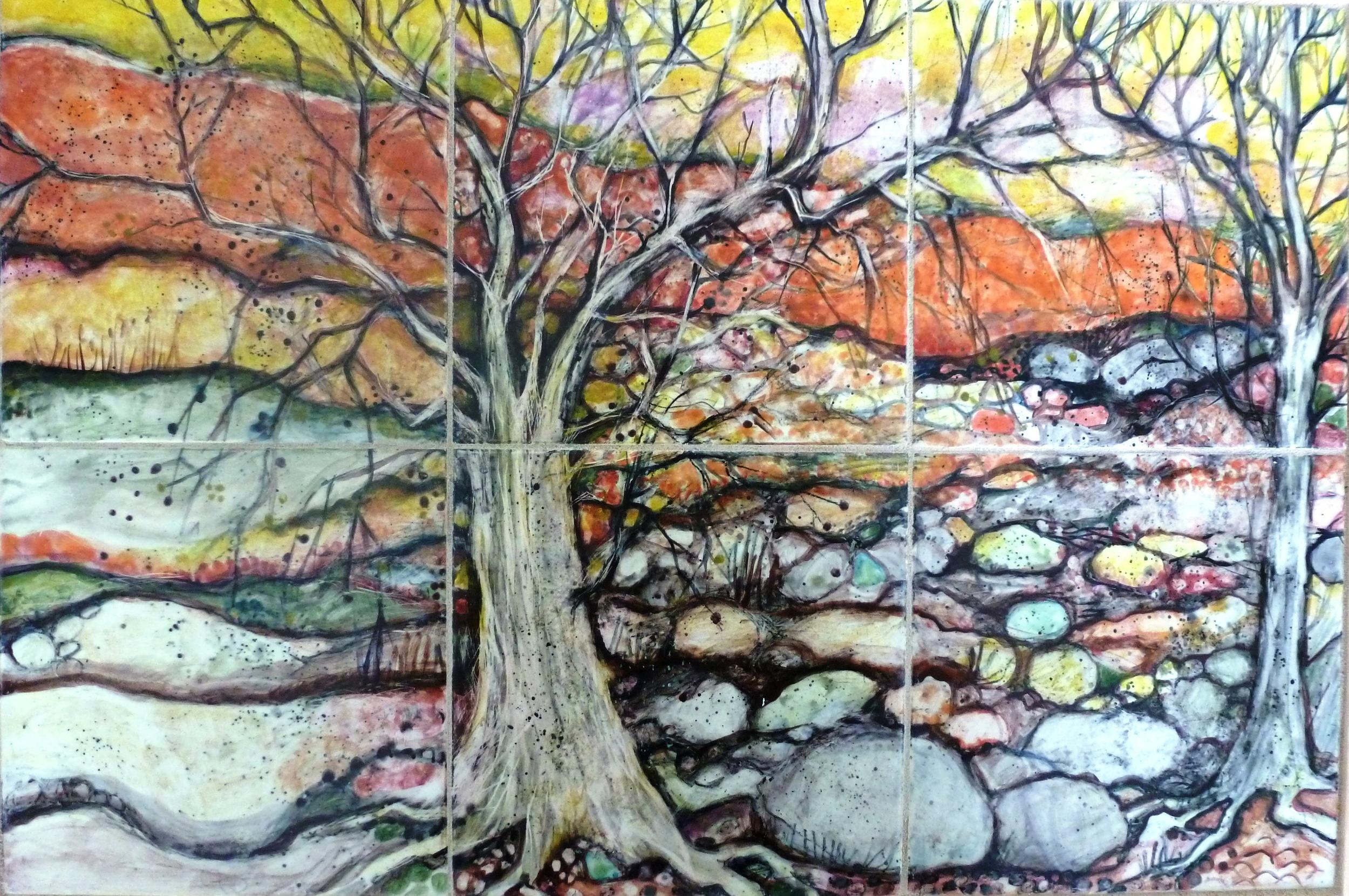 Barren Trees in Rocky Ravine.JPG