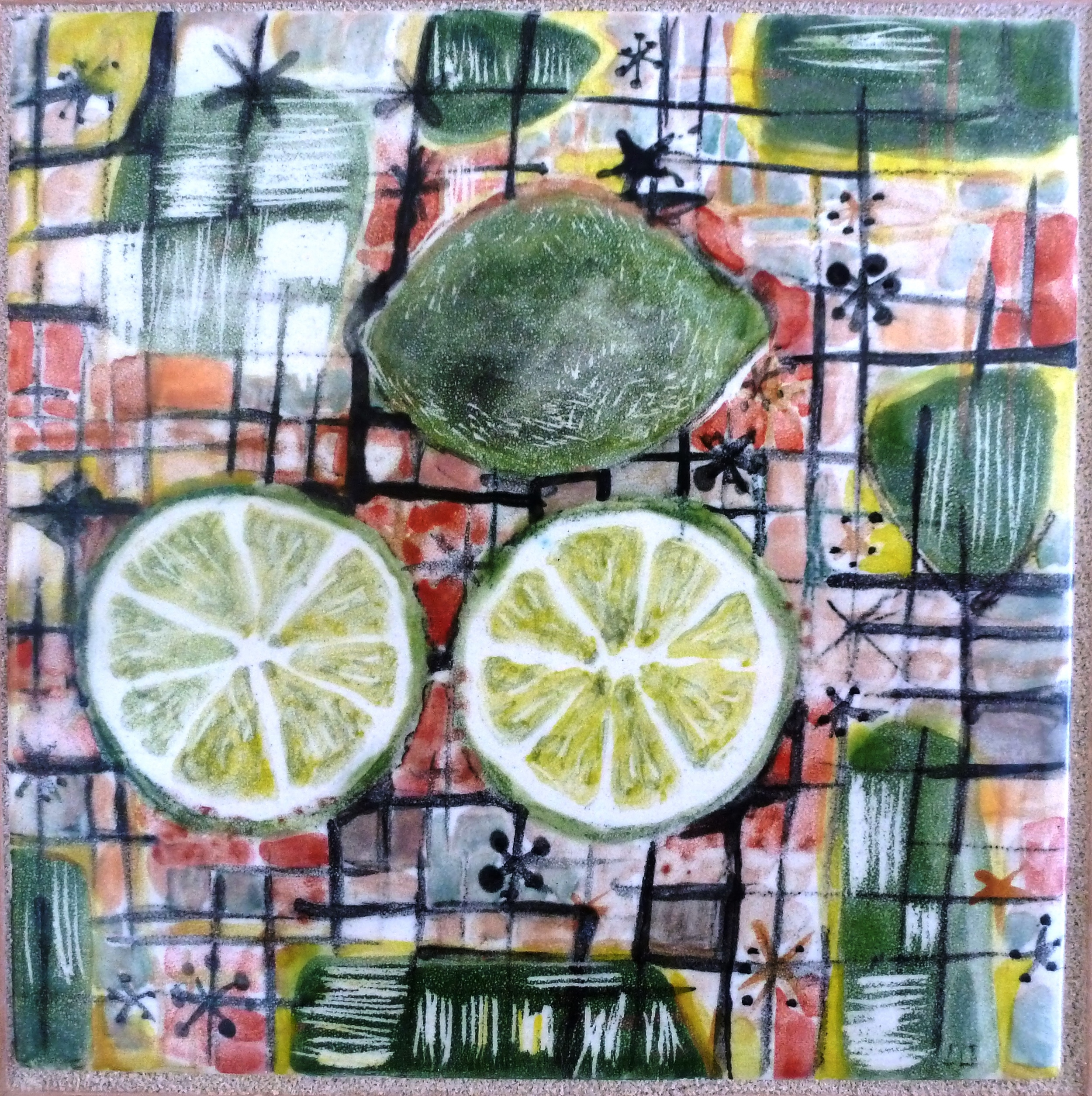 Limes with Starbursts.JPG