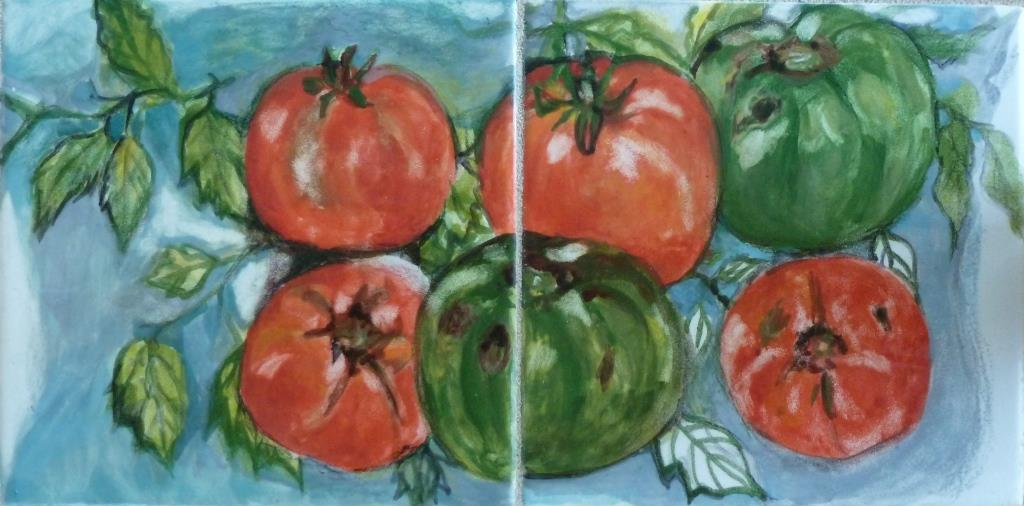 Green and Red Tomatoes - 6x12.jpg