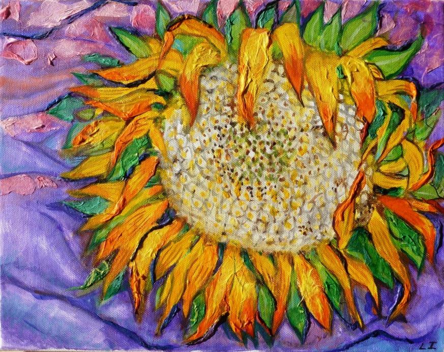 Mammouth Sunflower - 11x14.jpg