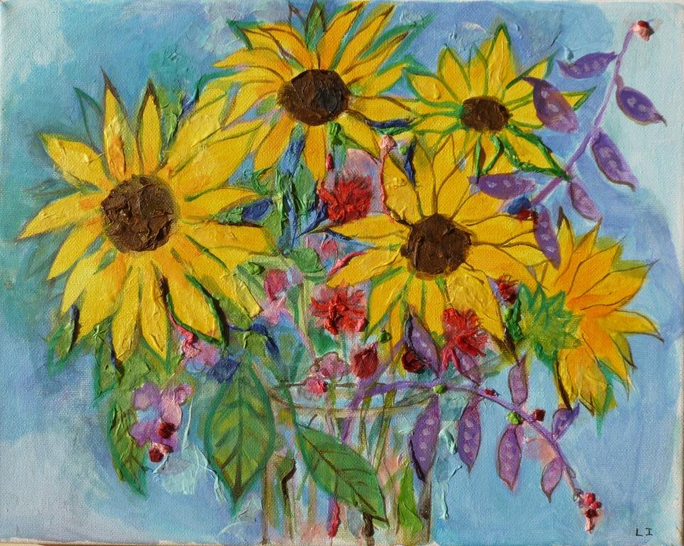 Sunflower Bouquet - 11x14.jpg