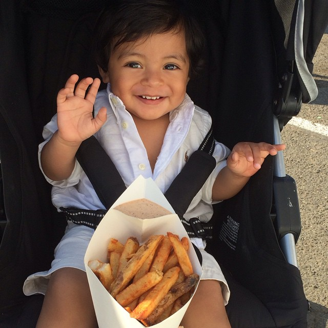 Simple joys! #LICFlea #FryLove