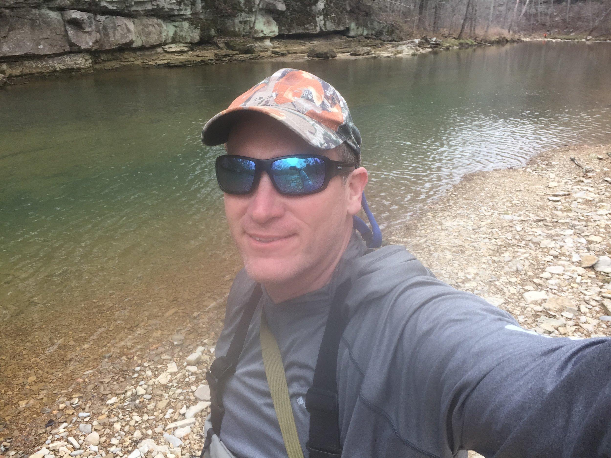 Spring Fishing on the Creek.