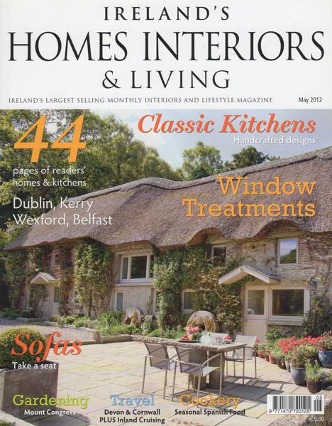 Ireland's Homes Interiors & Living May 2012