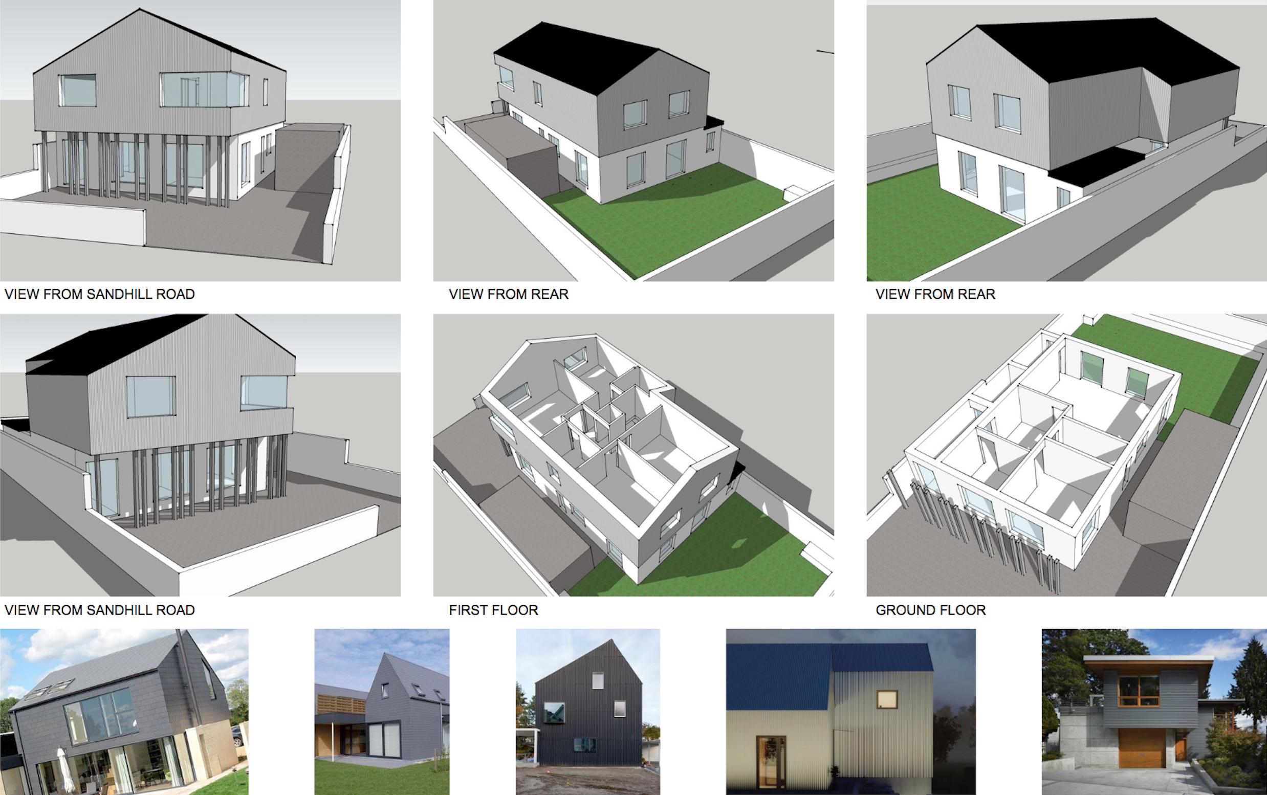 House Extension, Ballybunion (feasibility study)