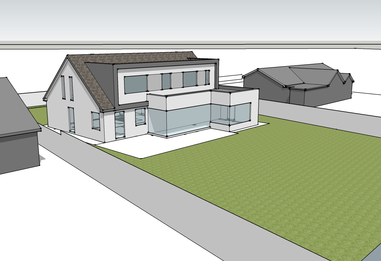 House Extension, Adare (tender stage)