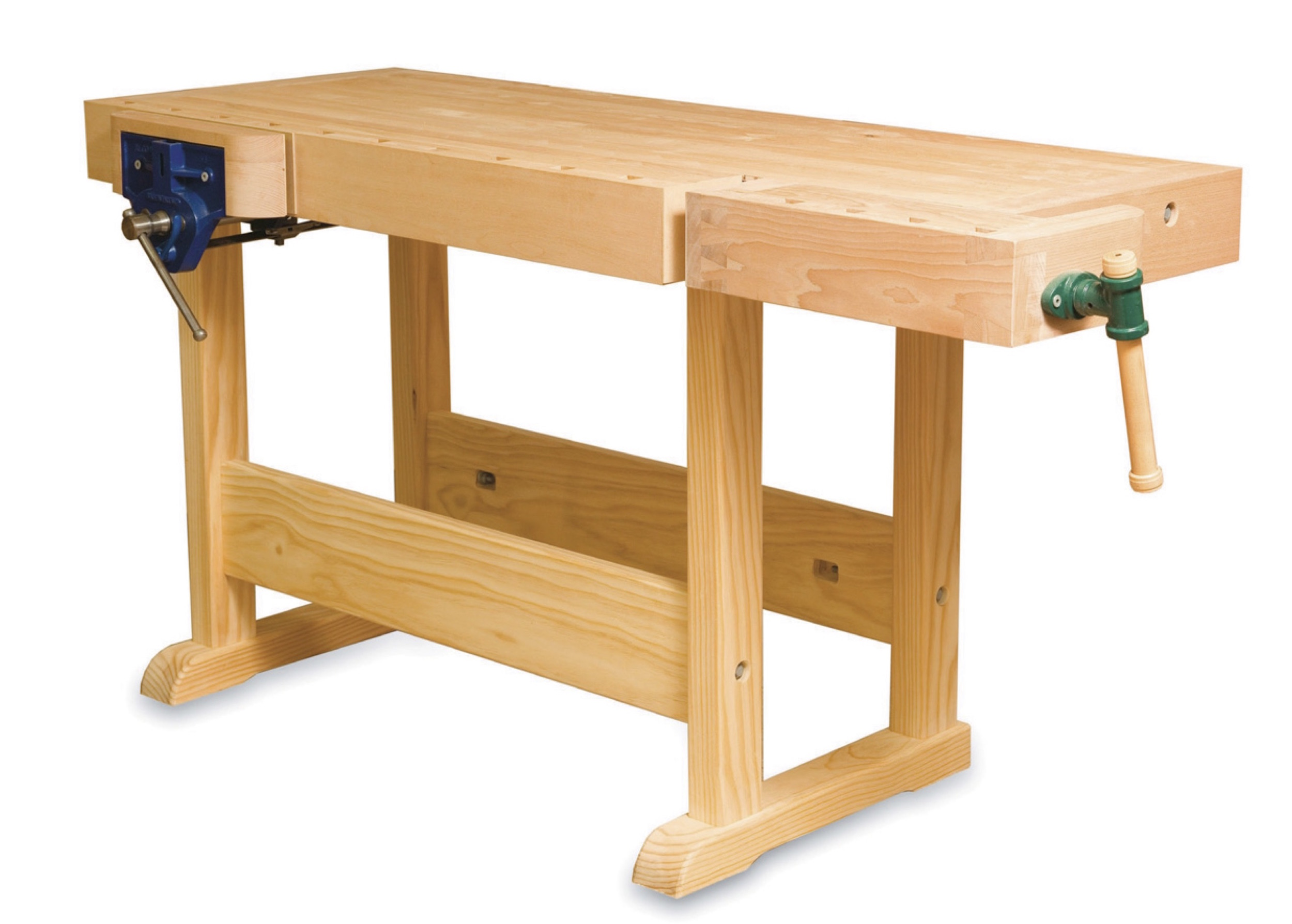 Traditional Workbench - Learn to make the most useful of woodworking tools, a traditional european style woodworking bench. A combination of learning outcomes in both hand tool use and accurate machining of rough sawn timber.10 days$3000 including materialsDates - TBA