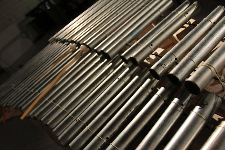 EMT Pipe Xylophone -