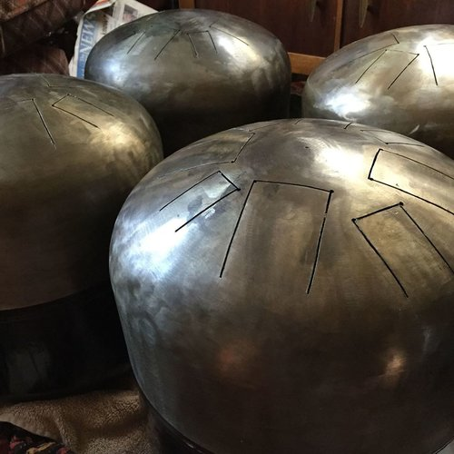 Propane Tank Tongue Drums -