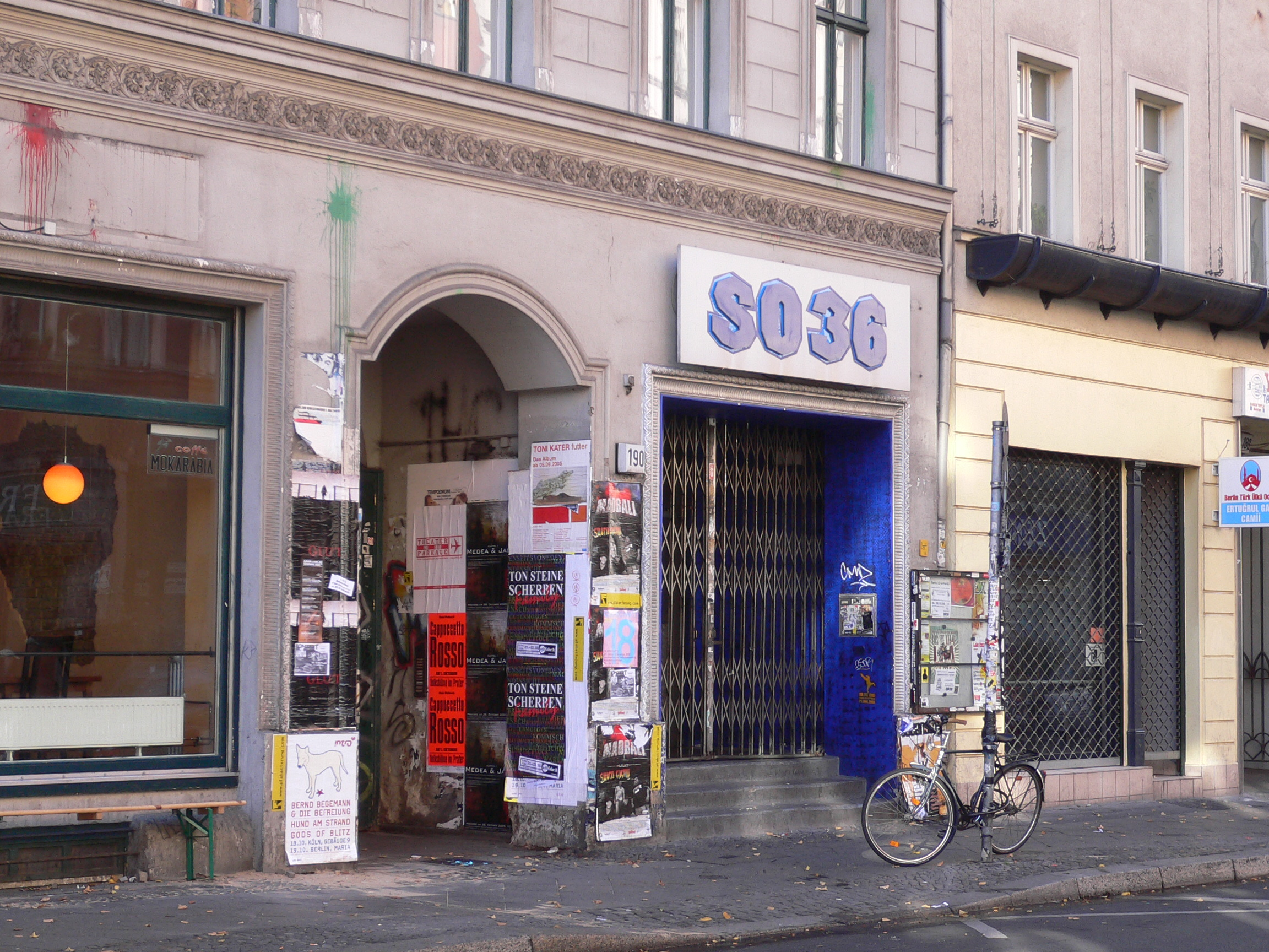 SO36 (Berlin's CBGB's)