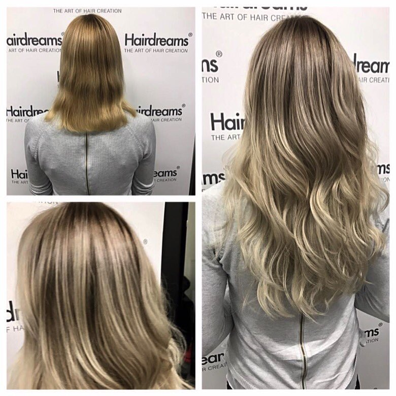 Hair Dreams before and after
