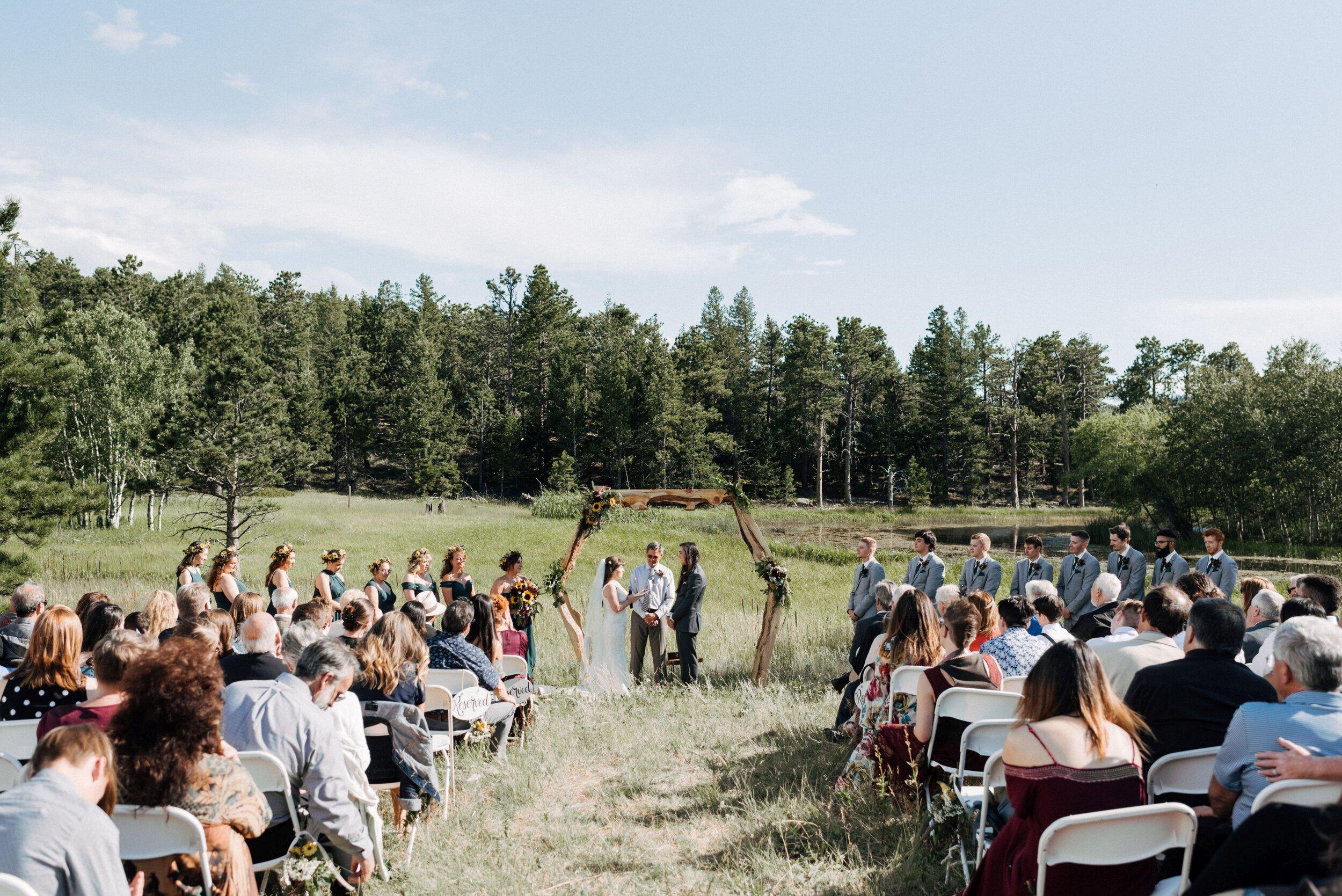 Mountain wedding planning Colorado