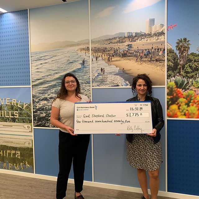 Many thanks to @citynationalbank for your hard work and thank you @janecohenmakeup for donating a makeover for the raffle! We truly appreciate your ongoing support and your creative ways of giving back.