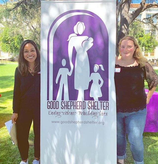 Sally, our volunteer coordinator, and Annie, one of our year-long Good Shepherd Volunteers, loved connecting with so many passionate and dedicated students at @loyolamarymount's Community Service Fair! Many thanks to the Center for Service and Action @csa_lmu for having us ✨