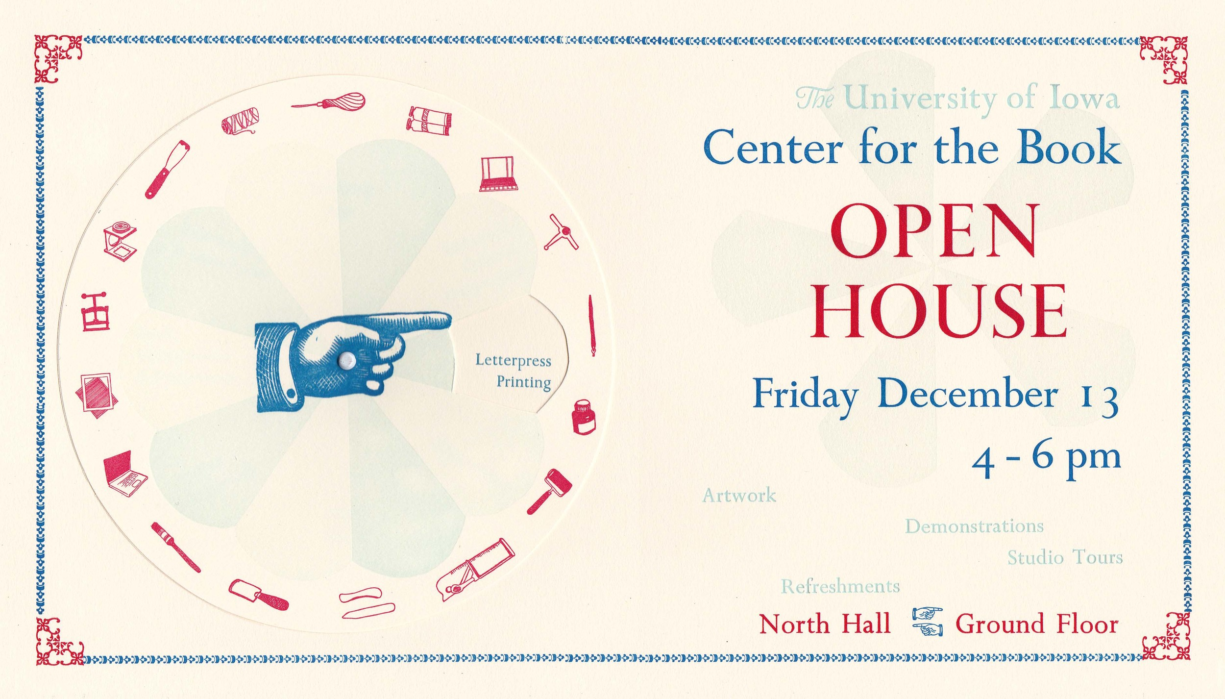 UICB Open House Poster