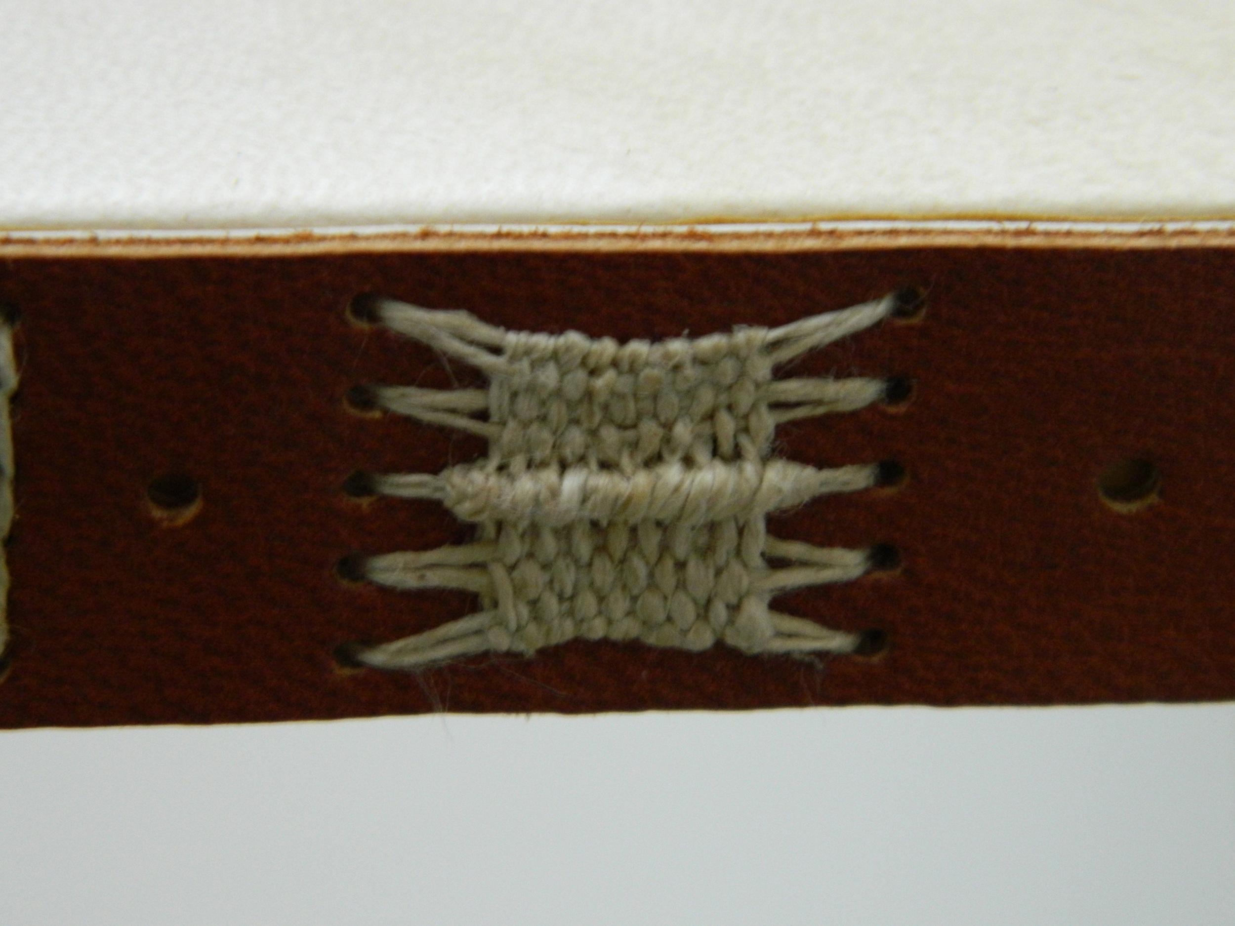 Long & Link Stitch, vellum
