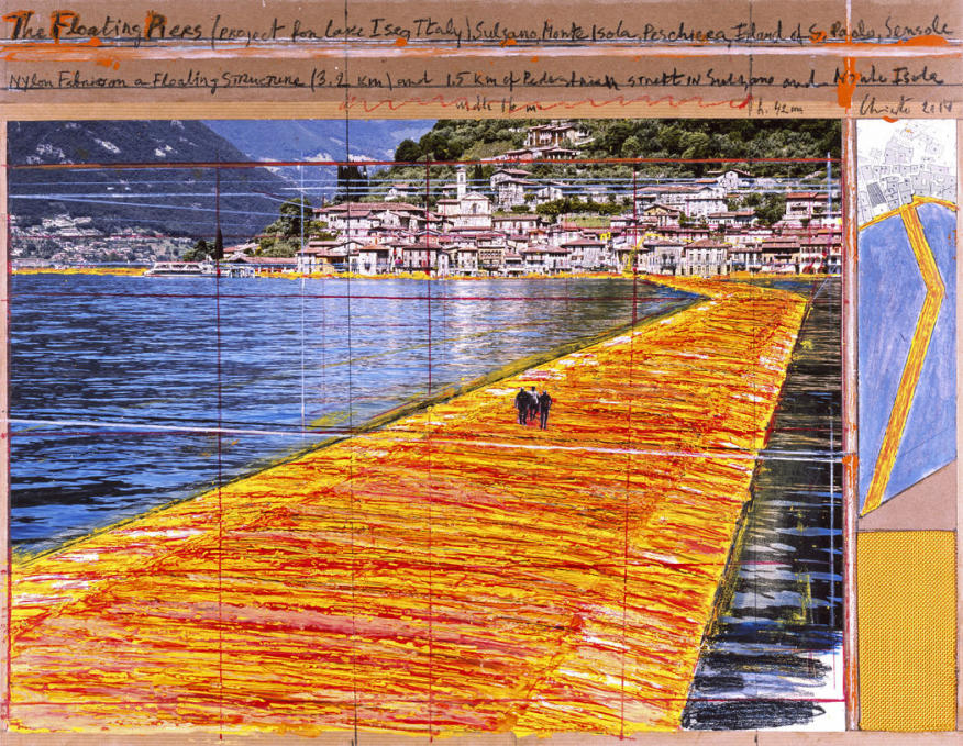 The Floating Piers , Christo