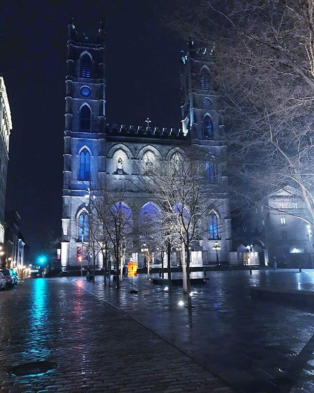Notre Dame Basilica of Montreal - designed in 1824 by James O'Donnell.